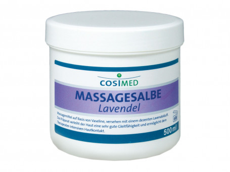 Massagezalf Lavendel, 500 ml