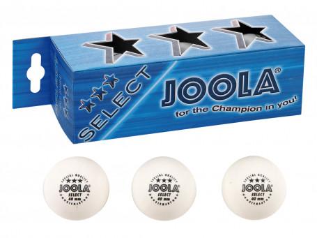 Tafeltennisballen Joola® SELECT*** wit, koker met 3 stuks