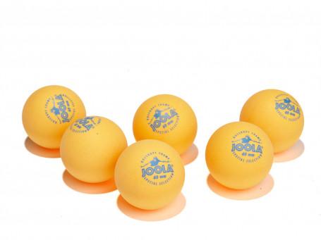 Tafeltennisballen Joola® ROSSKOPF CHAMP oranje, doos van 6 stuks