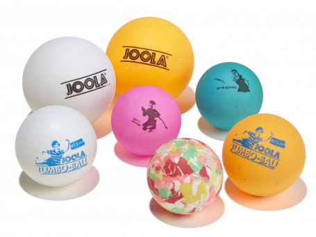 Tafeltennisballen Joola® 3/2/2 bont 7 stuks