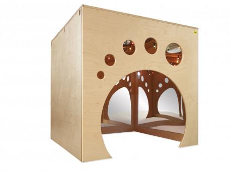 Spiegelkubus Playcube 105x105x92 cm