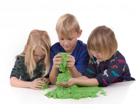 Kinetisch zand, 2,27 kg groen