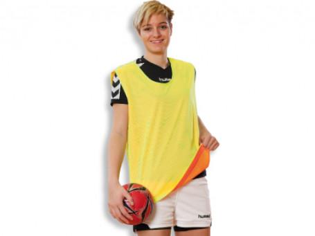 Wisselvest Kübler Sport® senior - geel/oranje