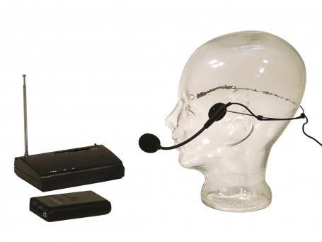 Zendmicrofoonset Aschenbach Gemiplus met headset