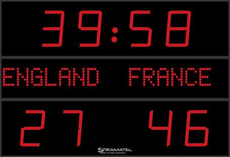 Stramatel® outdoor scoreboard FRC AD