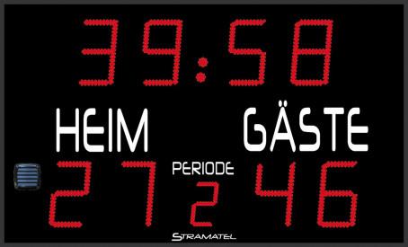 Stramatel® Scoreboard FRA Period NEW
