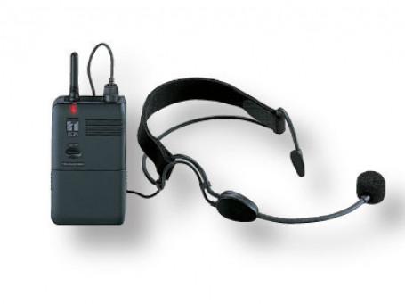 Nekbeugel-microfoon zender + ontvanger