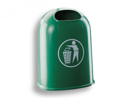 Afvalbak/Papierbak groen