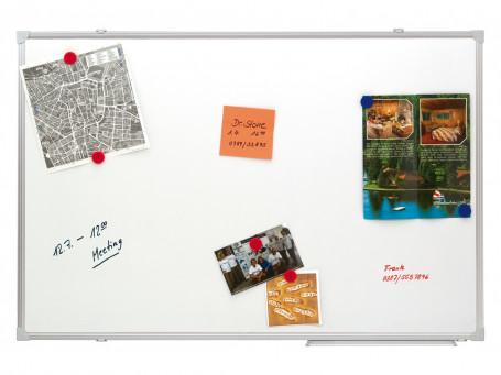 White-/planbord magnetisch 90 x 60 cm