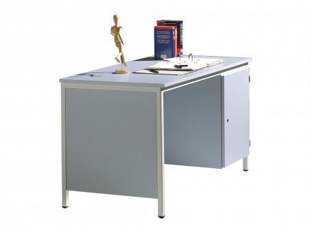 Bureau 130 x 65 grijs