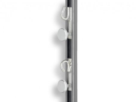 Schuifblok met haak 30 mm breed, opening boven