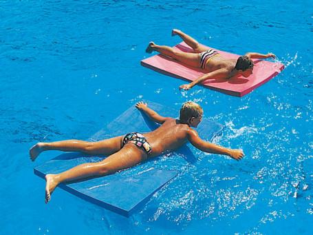 Zwem- en speelvlot 145 x 95 x 6 cm