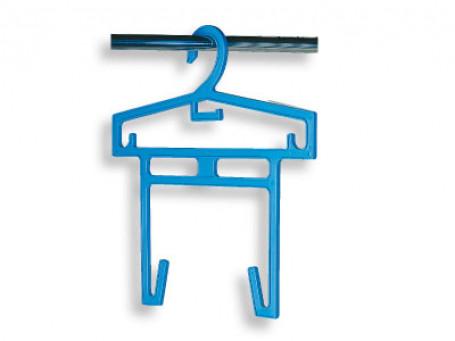 Zwembad-kledingbeugel blauw