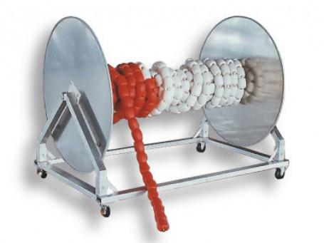 Haspelwagen van aluminium