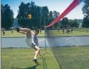 All-In Sport: Voetvolleyset Player III geel