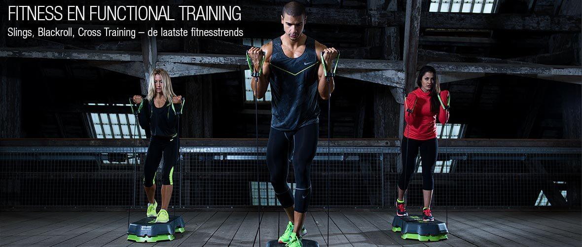 Fitness & Functional Training - Slings, Blackroll, Cross Training – de laatste fitnesstrends - All-In Sport