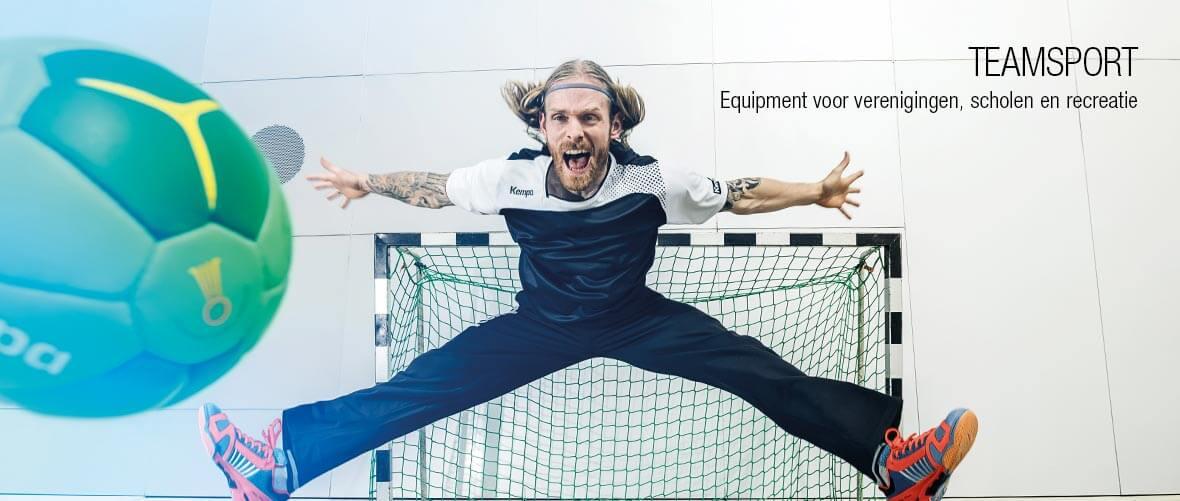 Teamsport - Equipment voor verenigingen, scholen en recreatie - All-In Sport