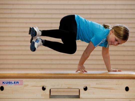 Sprungkasten im Sportunterricht