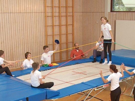Grand Master Trampolin SCHOOL